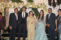 Celbs at Ahana Deol & Vaibhav Vohra Wedding Reception Photos