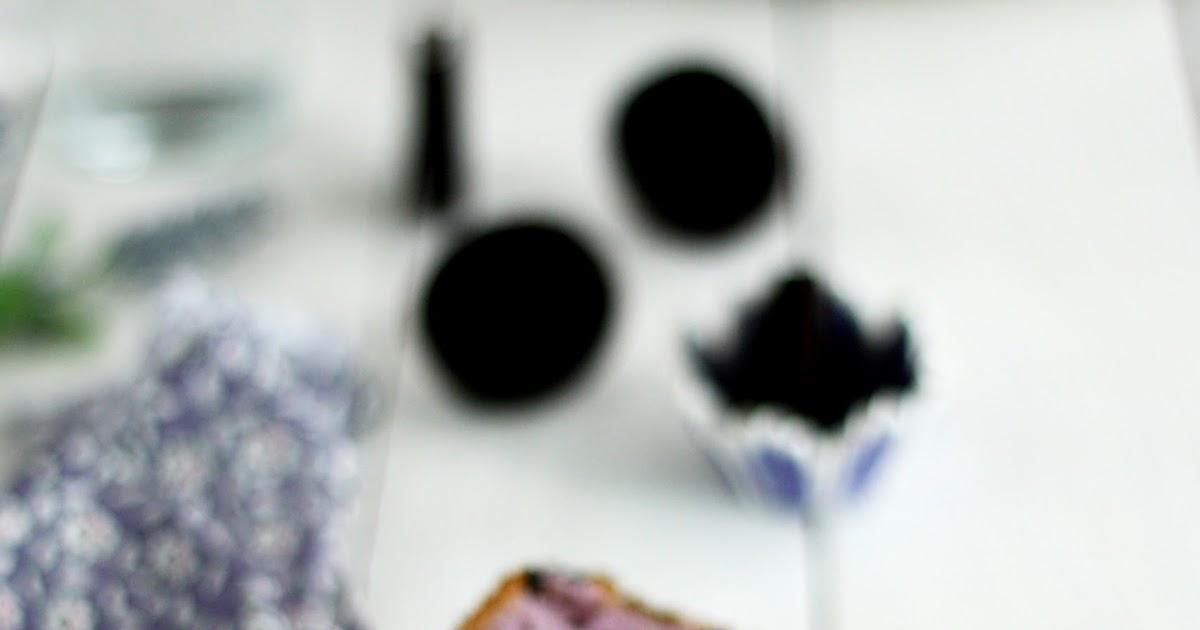 Blueberry Oreo Chiffon Cake