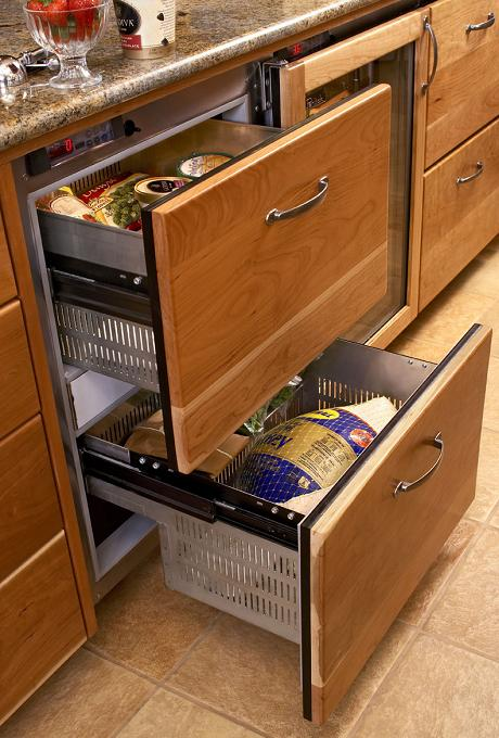 W + L: drawer fridge? what the what?