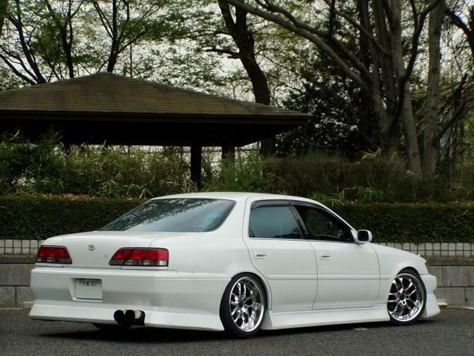 Toyota Cresta X100, 1JZ, JZX100, driftowóz, tuning, RWD, zdjęcia, 日本車, チューニングカー, ドリフト走行, トヨタ クレスタ