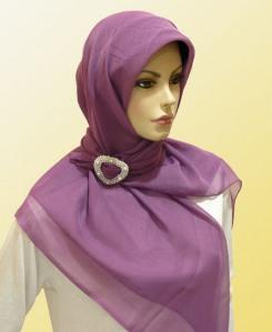 Metode Cara Memakai Jilbab Segi Empat