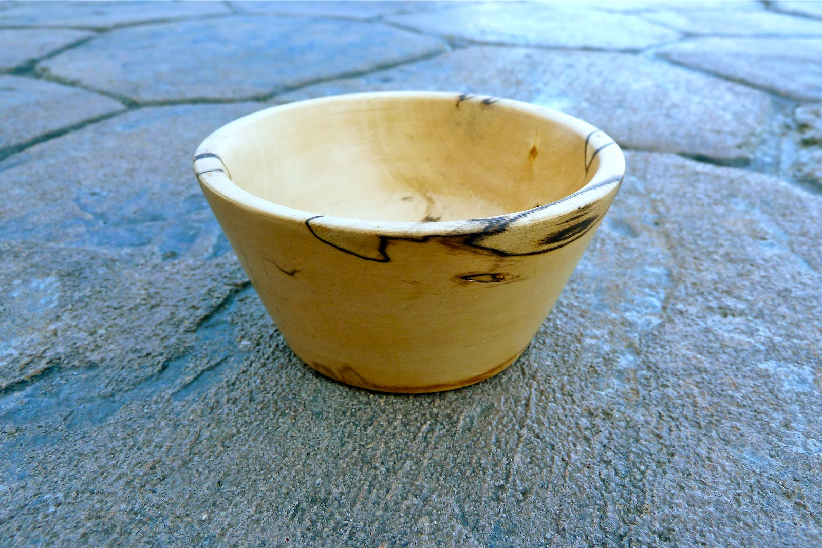 hand crafted wood bowl