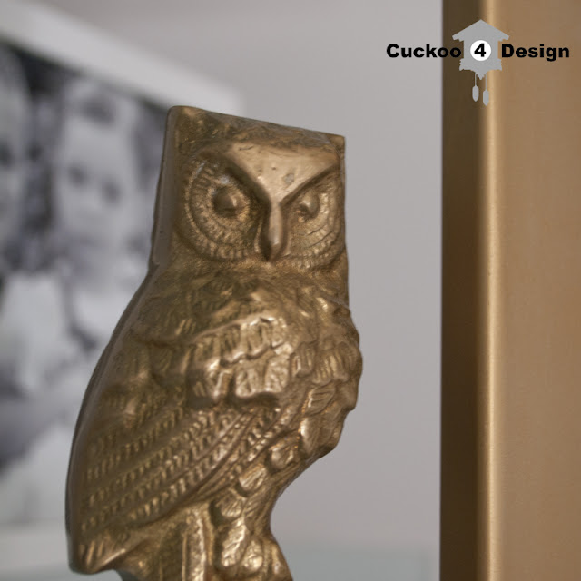 brass owl from cuckoo4design