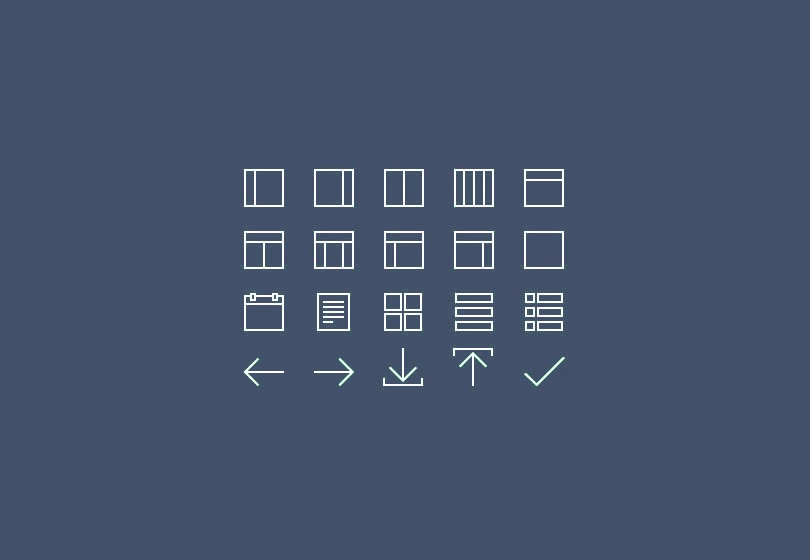 Free Thin Line Icon Sets
