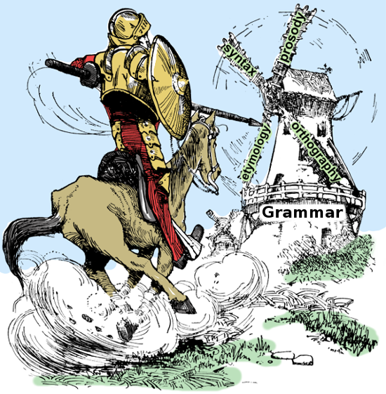 http://www.in-nuce.com - Tilting at grammar windmills