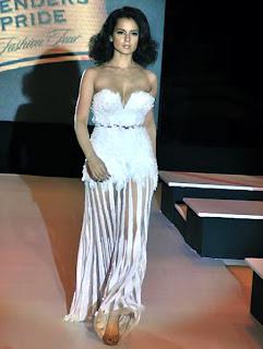Kangana Ranaut's Wardrobe Malfunction