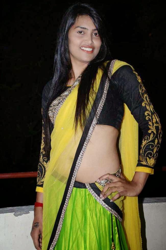 Sravanthi In Full Sleeves Blouse
