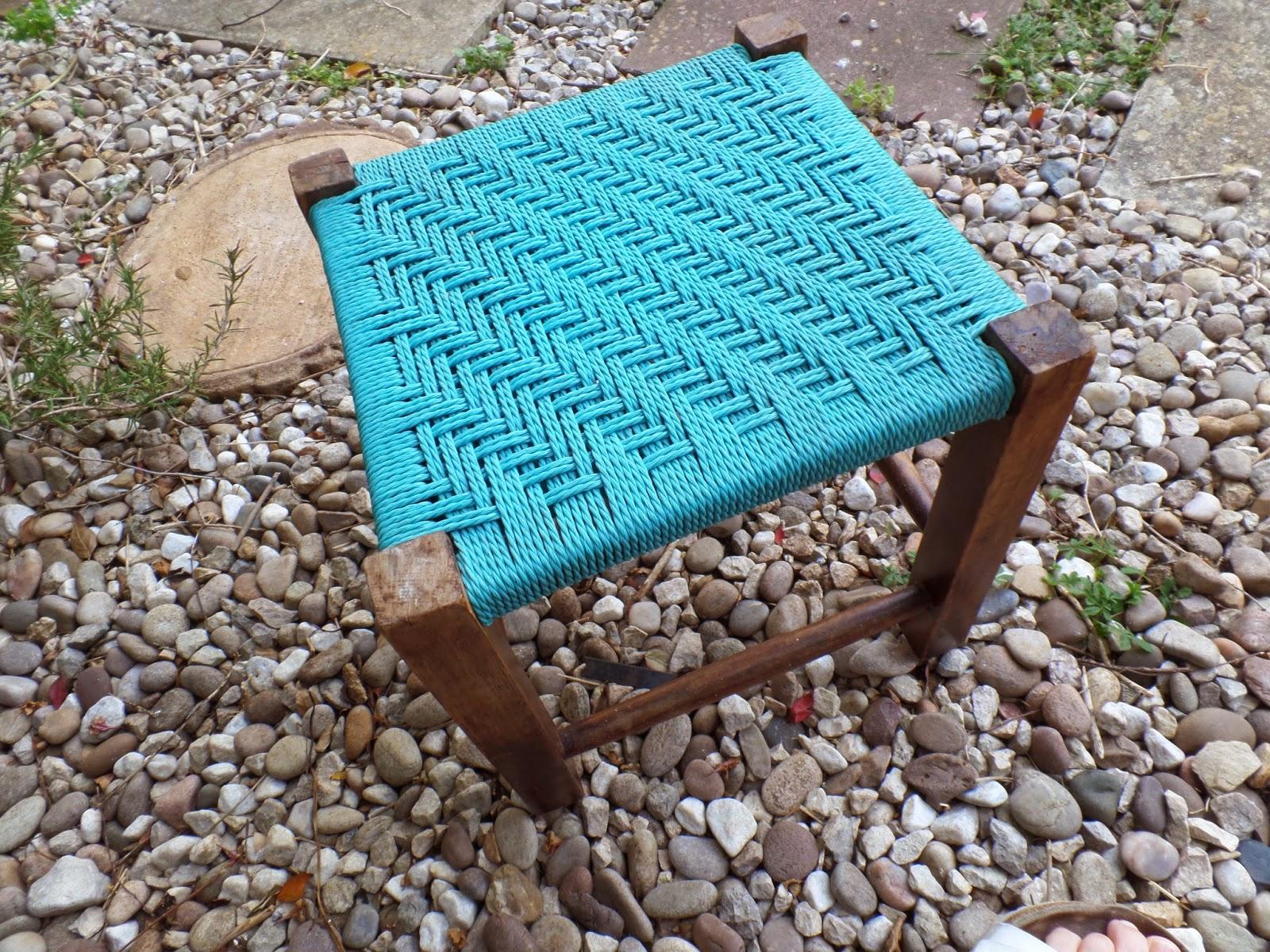 small vintage stool
