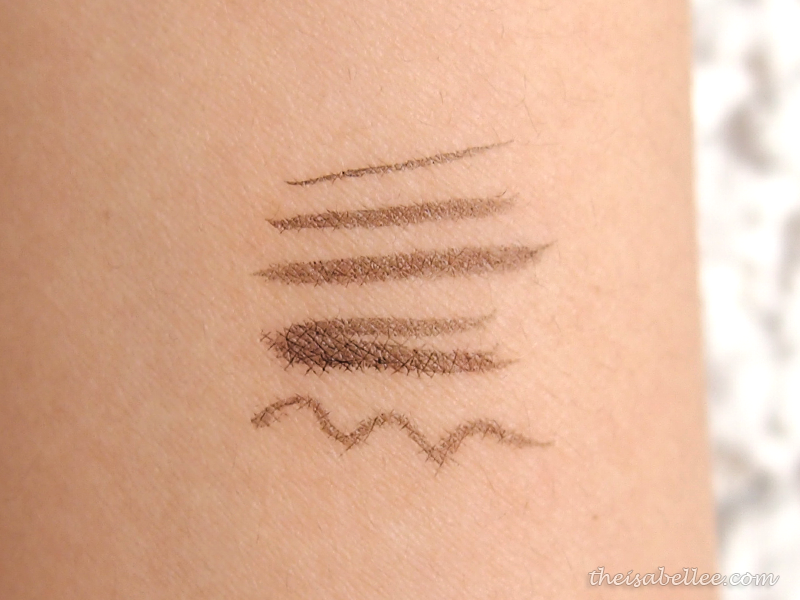 Swatch for Maybelline Hypersharp Liner Laser Precision in Soft Black