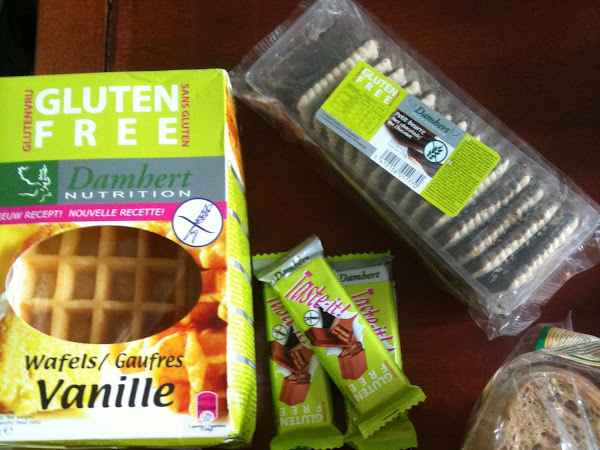 glutenfreie Produkte aus Belgien