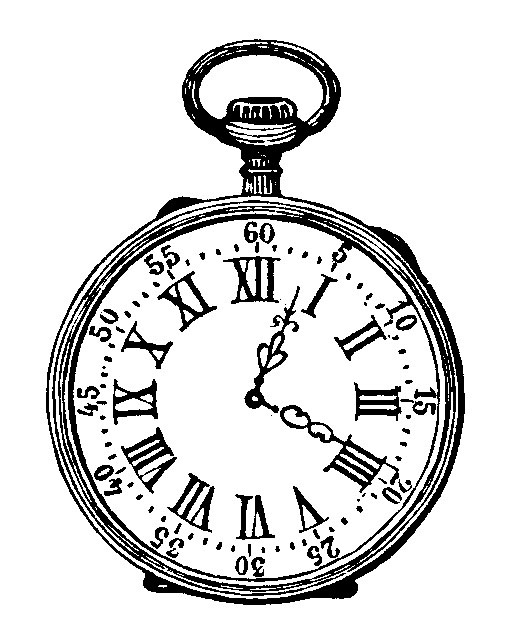 Line Drawing Clock : Sisters warehouse vintage images black and white