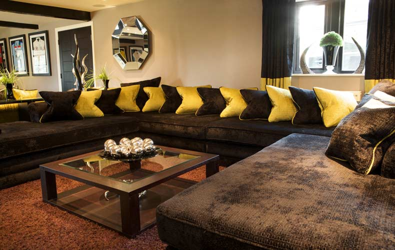 Brown Living Room Decorating Ideas