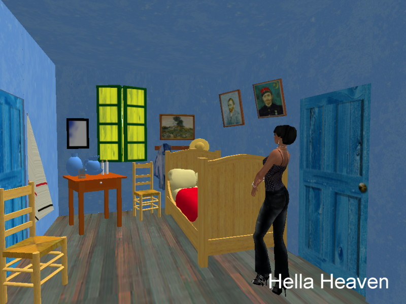 hella heaven: visiting van gogh's bedroom