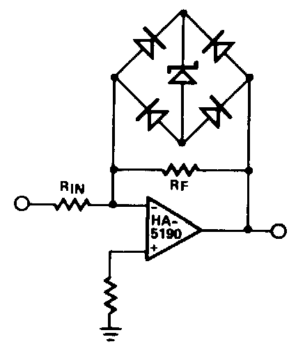 Simple Outputlimiter    Circuit       Diagram      Electronic    Circuit