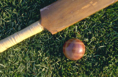 Bat & ball. So, lets go play cricket. :)