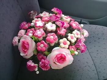 daisy gubahan
