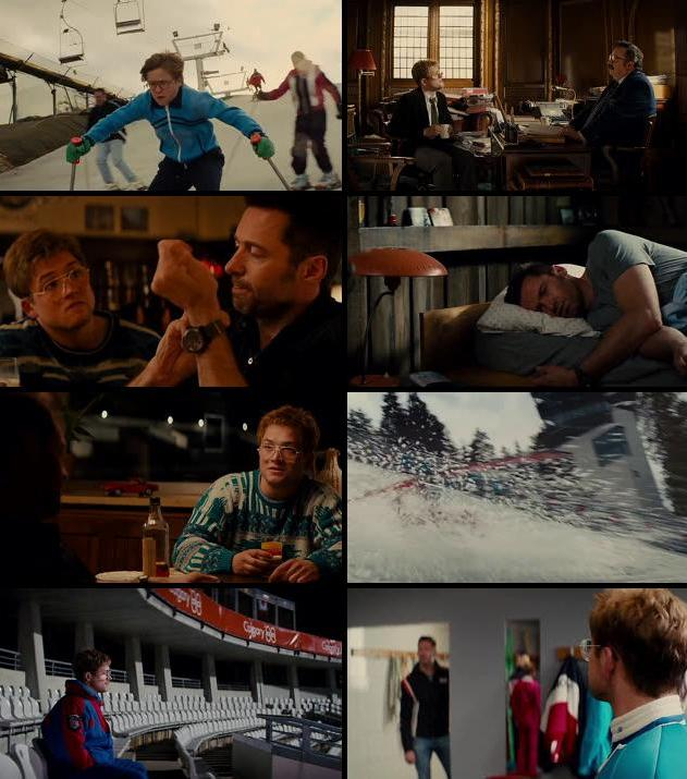 Eddie The Eagle 2016 Dual Audio Hindi 480p BluRay