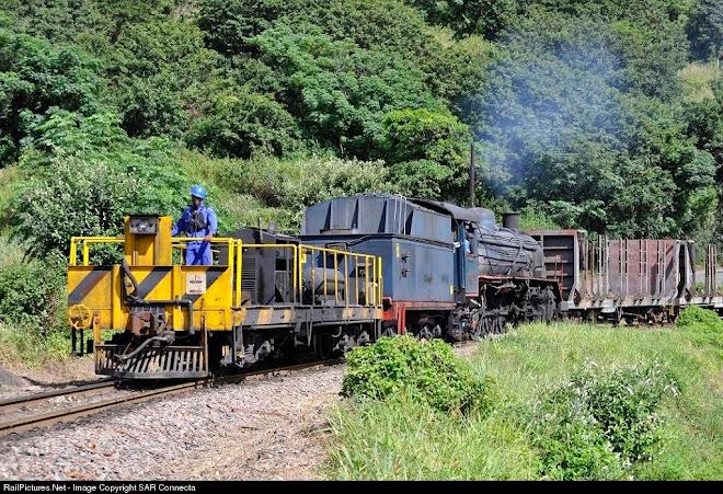 Ex SAR Class 19D No. 2767 / Saiccor No. 3