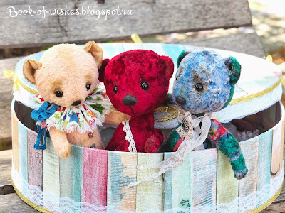 vintage plush Teddy-bears