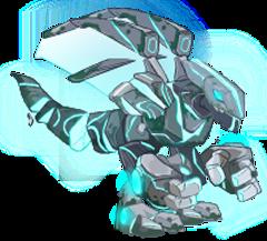 imagen del dragon atlanteano de dragon city