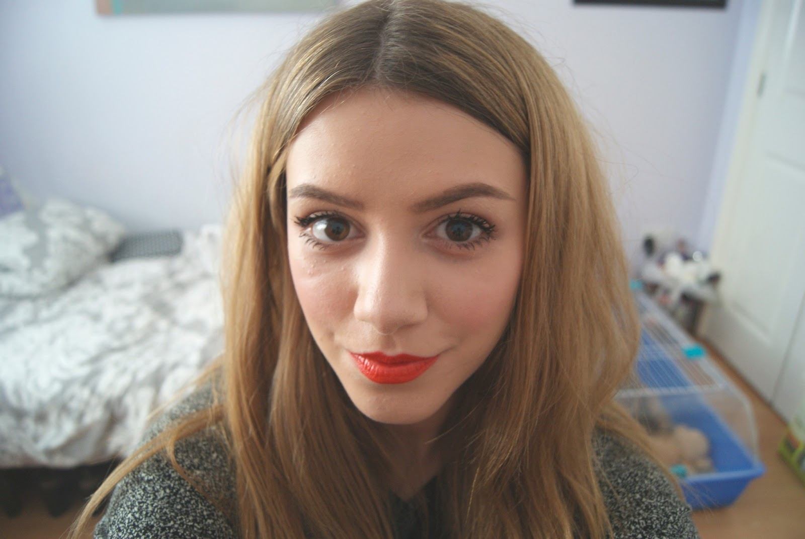 How to neon wear orange lipstick rare photo