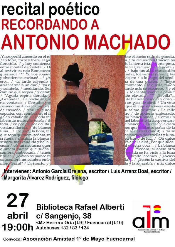 27 abril recordando a Machado