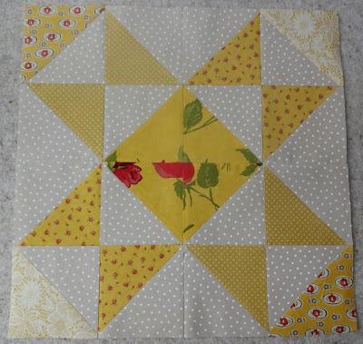 HST quilt bee block