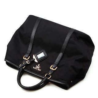 proda bags - Prada Tessuto Nylon Large Tote BN1881 - Black