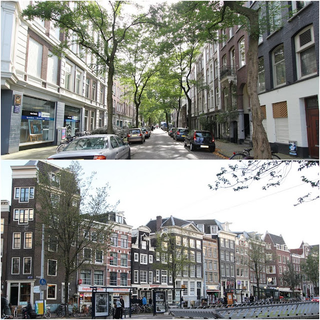 Most of the buildings are built in unique architectural design which are unique and different from one another despite there is limited of land in Amsterdam, Netherlands