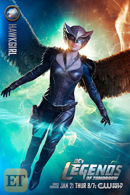 DC's Legends of Tomorrow Character Television Poster Set - Ciara Renee as Hawkgirl