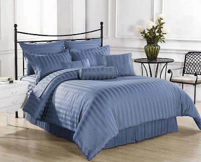 king size comforter sets blue