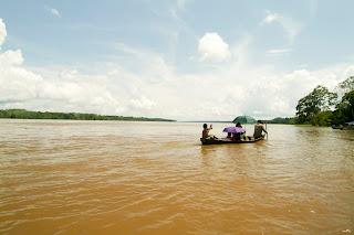 Río Amazonas. Leticia, Colombia.Foto: Jorge Bela