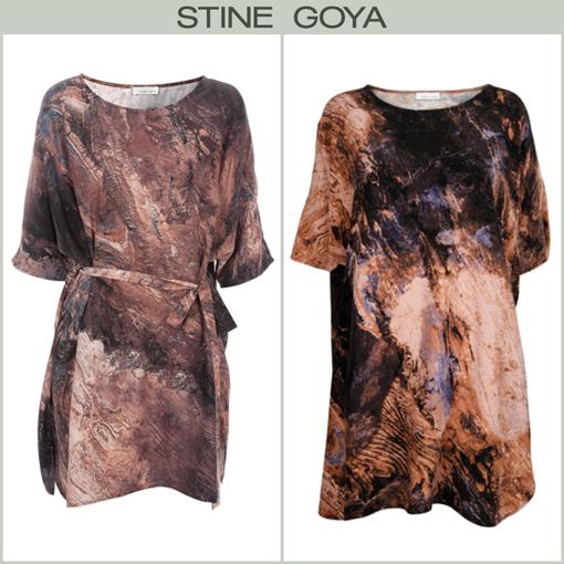 STONE DRESS / T-SHIRT - STINE GOYA