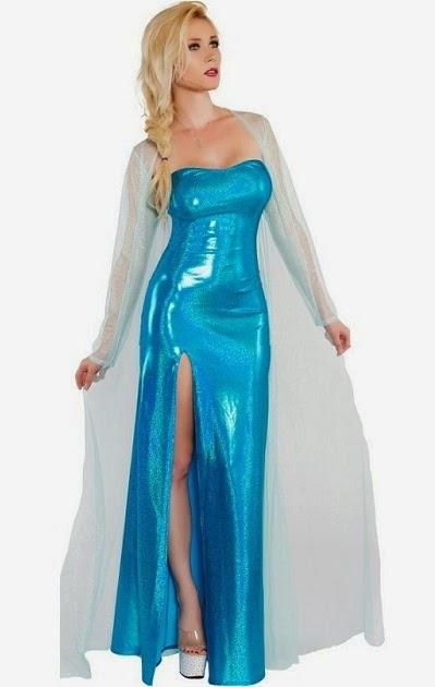 Sexy Ice Queen Halloween Costumes