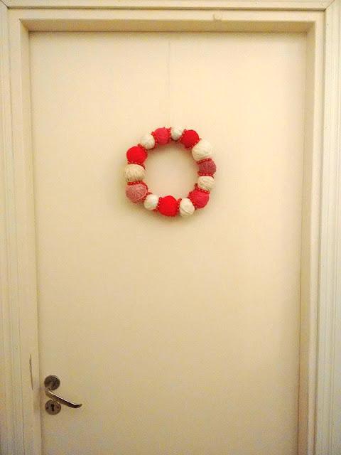 lankakranssi, jämälankaidea, joulukoriste
