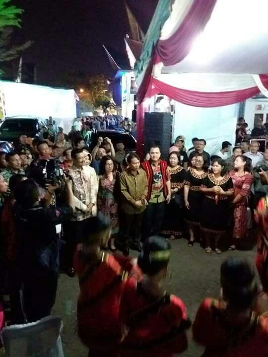 Pembukaan PRSU ke-47, Gubsu Resmikan Paviliun Pemkab Nisut