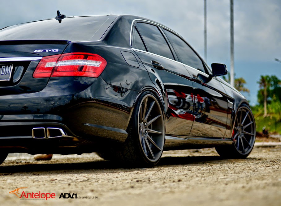 Mercedes benz w212 e63 amg on adv10 wheels benztuning for Mercedes benz with rims
