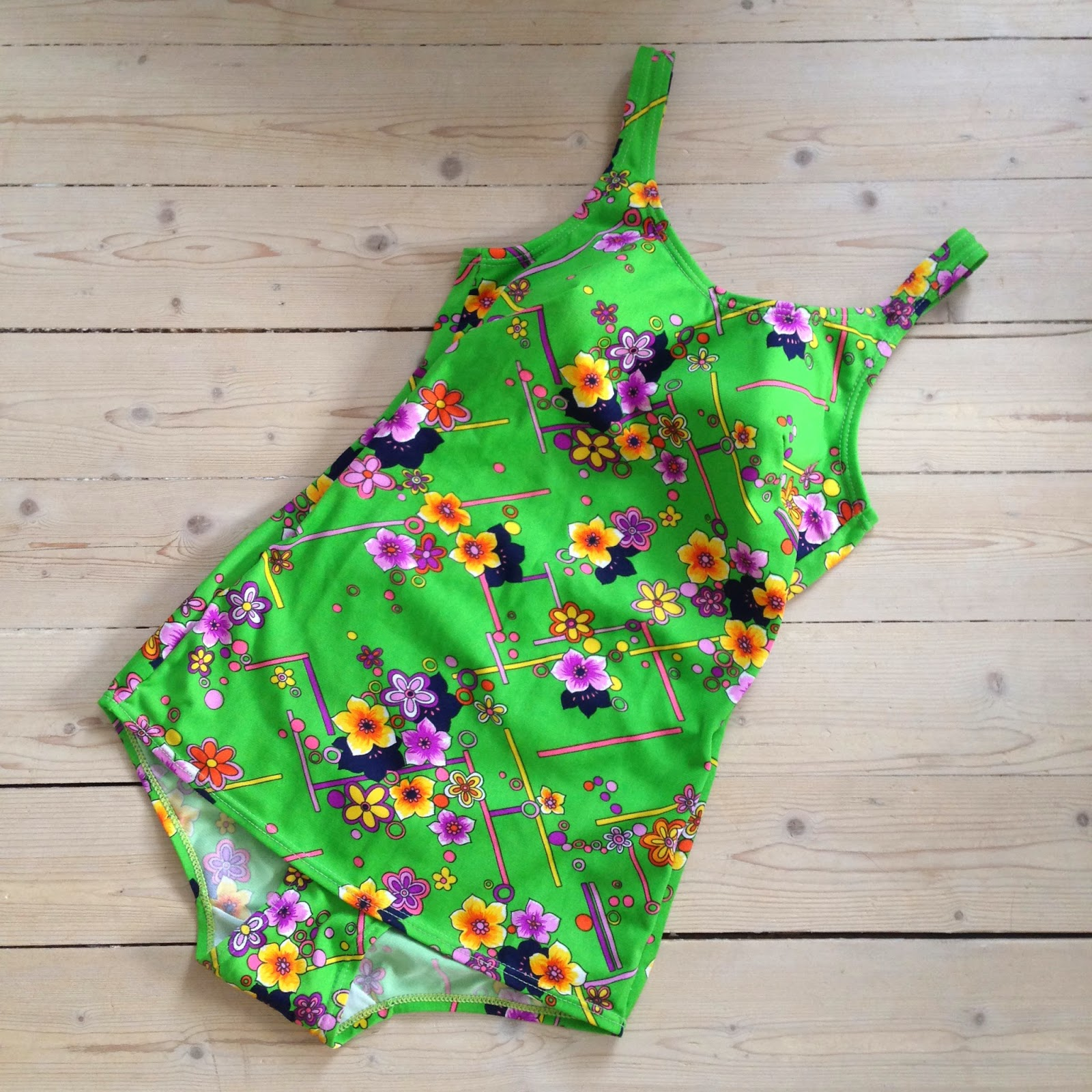 Marshmallow Electra vintage swimsuit