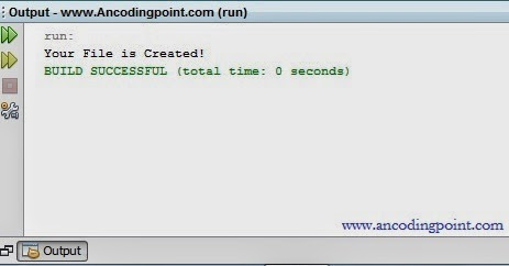 Java Filing Programming