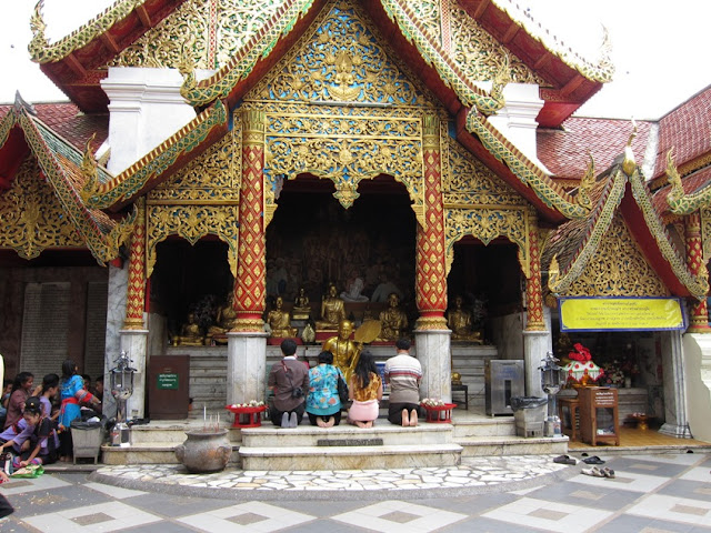 Temple on Doi Suthep, Chiangmai