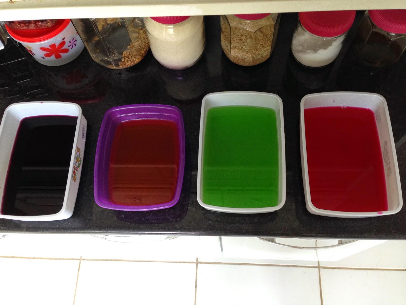 receita gelatina mosaico