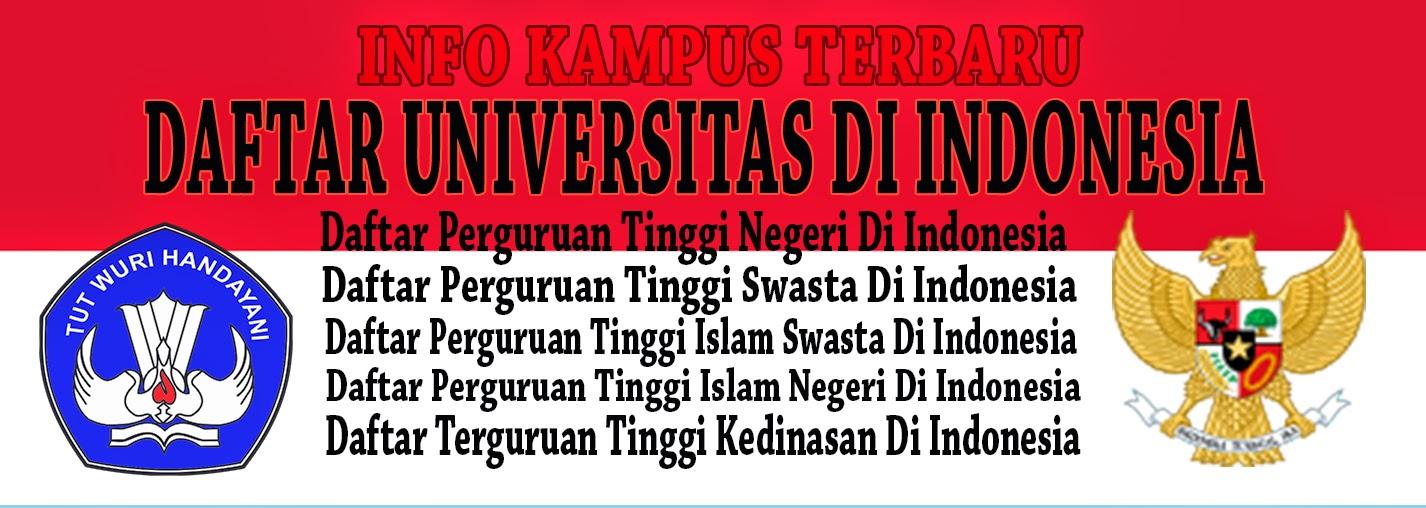 Daftar Universitas Di Indonesia