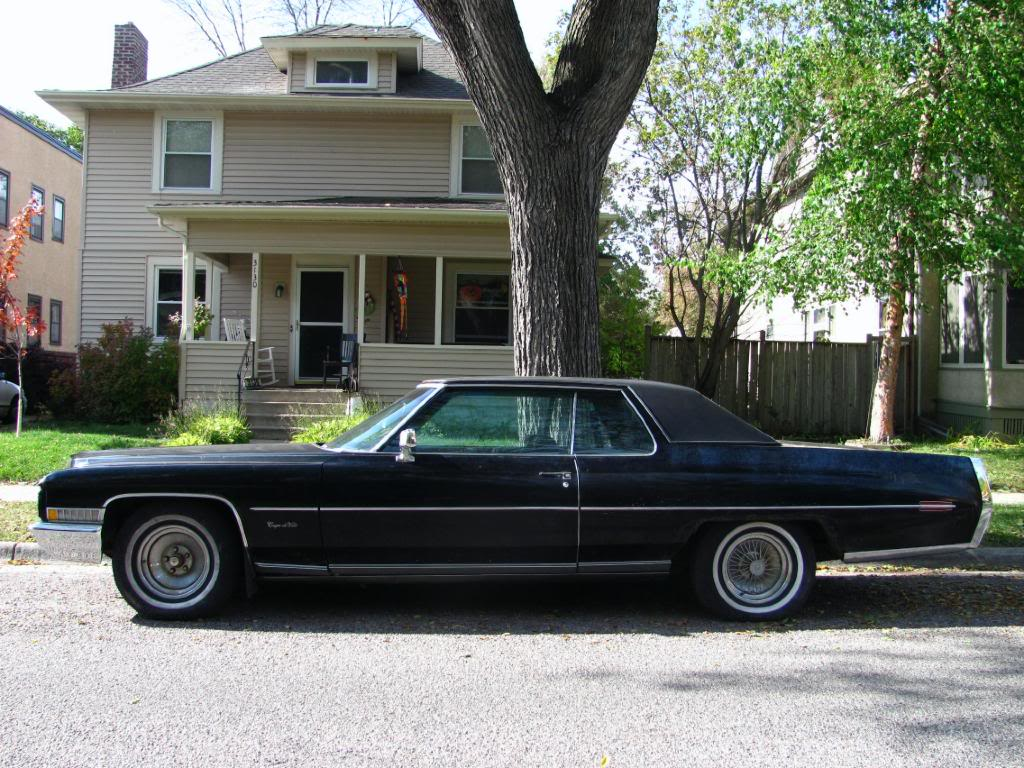 The Automotive Way: Minneapolis Street Sighting: Cadillac Coupe de Ville