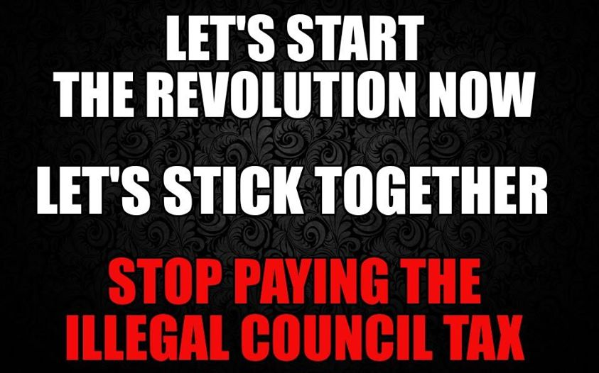 Stop Paying the Illegal Council Tax