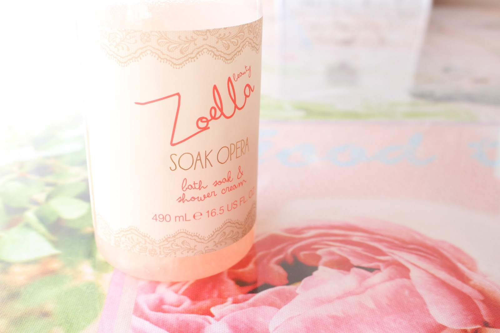 zoella beauty soak opera shower gel
