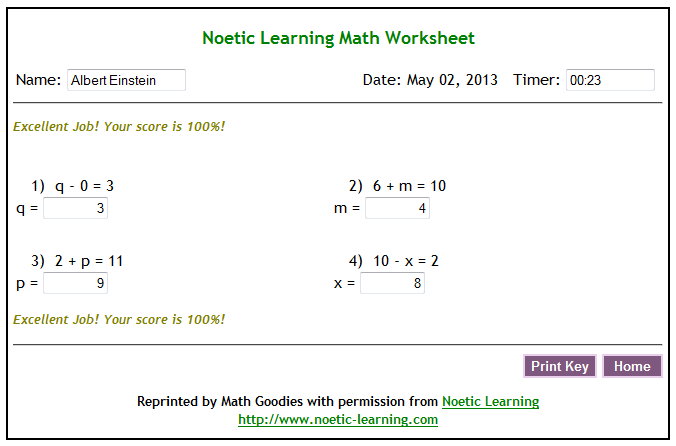Math goodies blog math worksheet generator about expanding my worksheet library i decided to work on a way to create online worksheets i am proud to announce our new math worksheet generator ibookread ePUb