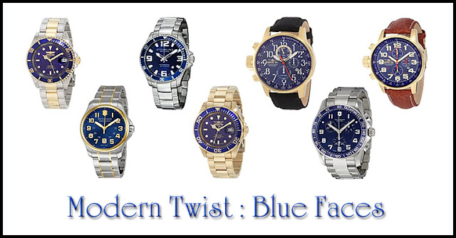 Modern Twist - Blue Faces Watches