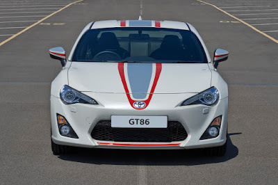 Toyota GT86 Blanco (2015) Front