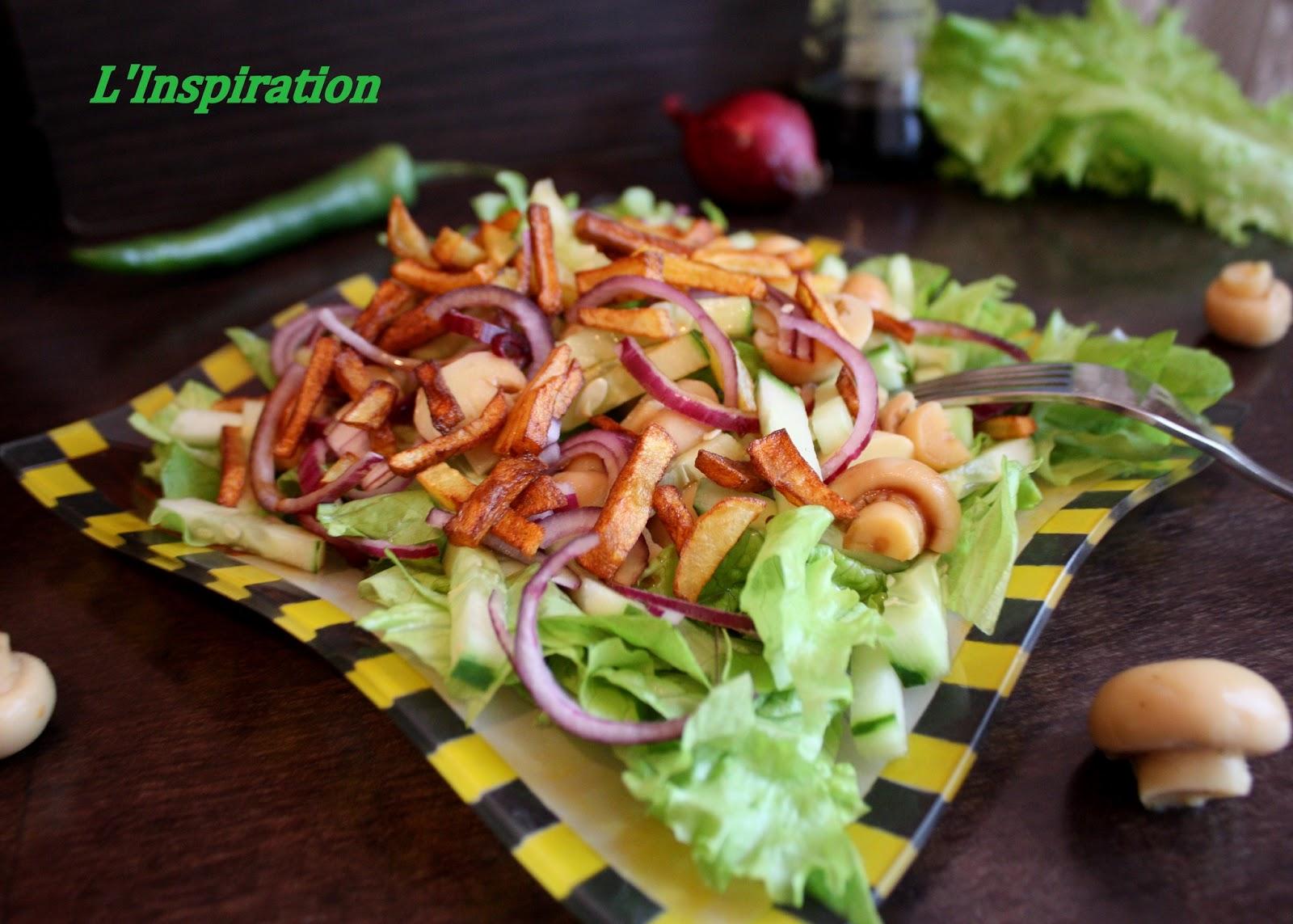 Салат с картошкой пай фото