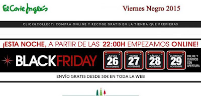 black friday el corte ingles 2015